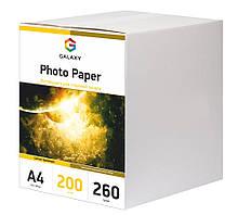 Galaxy A4 200л 260г/м2 Сатин фотобумага