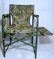 Большой складной рыбацкий стул,цвет олива-хаки, фото 1