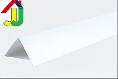 Уголок пластиковый LinePlast 20×20 Белый LUB001-002 декоративный, отделочный, двухсторонний