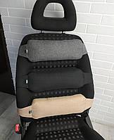 Поясничная поддержка спины EKKOSEAT в авто для водителя и пассажиров универсальная. Ортопедическая.