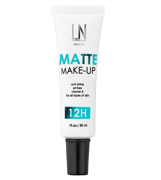 Тональный крем LN Professional Matte Make-up Foundation, ЛН Профешнл 30мл