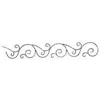 13.090 Фриз декоративный 165*1130*12*6 вальцованный