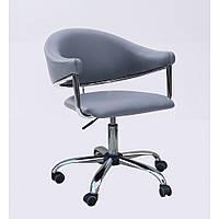 Стульчик со спинкой для косметолога, кресло для парикмахера,маникюрное кресло для клиентов и мастеров НС 8056К