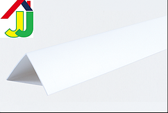 Уголок пластиковый LinePlast 25×25 Белый LUB001-002 декоративный, отделочный, двухсторонний
