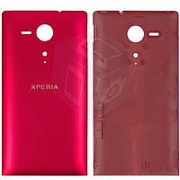 Задняя панель корпуса для Sony Xperia SP C5302 / C5303, оригинал (красный)