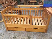 Дитяче деревяне ліжко Детская кровать деревянная