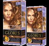 Краска для волос 8.1 карамельный блонд Glori's 50мл