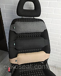 Поперековий упор EKKOSEAT під спину на крісло авто та офісне крісло