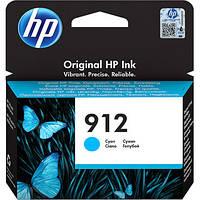 Картридж HP 912 Original Ink Cartridge Cyan 315 стр