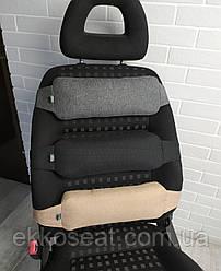 Ортопедичний упор під спину EKKOSEAT для офісних і автомобільних крісел