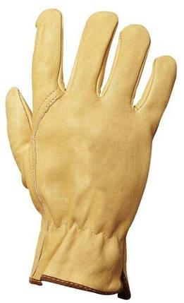 Рукавички робочі шкіряні, фото 2