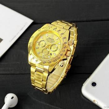Часы наручные Rolex Daytona Quartz Date All Gold