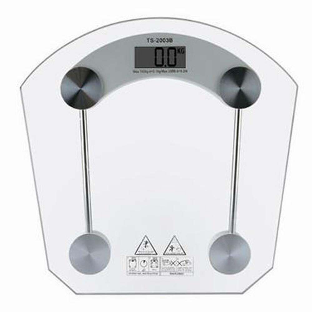 Напольные стеклянные электронные весы для точного измерения собственного веса до 180 кг ACS 2003