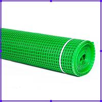 Сетка 20*20 пластмассовая 1.5х20 м (зеленая) Колибри