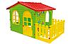 Детский игровой домик Mochtoys с террасой, фото 4