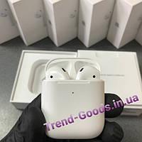 Наушники Apple AirPods with Wireless Charging Case MRXJ2 с беспроводным зарядным кейсом оригинал Apple AirPods