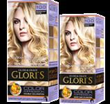 Краска для волос 10.0 ванильный блонд Glori's 50мл