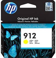 Картридж HP 912 Original Ink Cartridge Yellow 315 стр