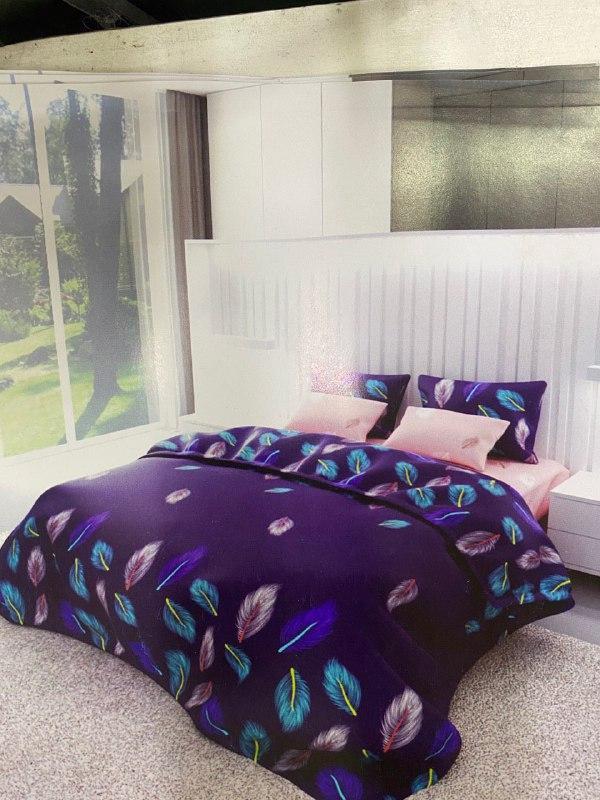 Комплект постельного белья бязь евро к008