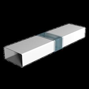 Воздуховод прямоугольный Эра ABS-пластик 60 х 204 мм х 2 м (60-168), фото 2