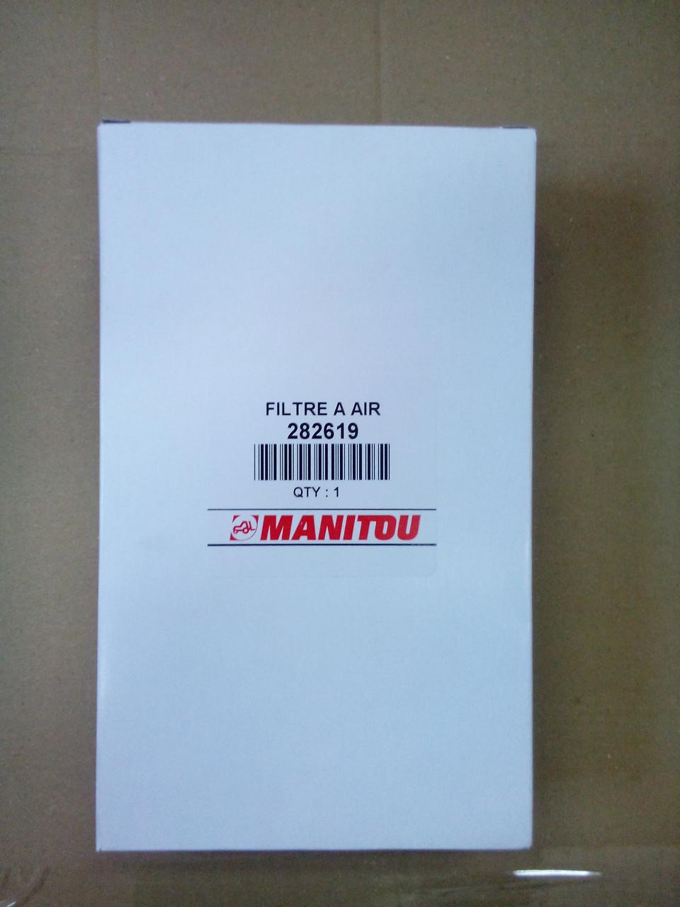 282619Фильтр воздушный кабины Manitou (Маніту, Маниту) оригінал