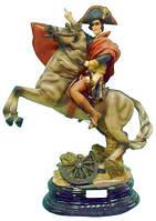 Статуэтка Наполеон h=35 см. Статуэтка Наполеона на коне. Настольная статуэтка. Подарки статуэтки. Статуэтки.