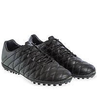 Сороконожки шиповки DIFENO Для футбола взрослые мужские Полиуретан Черный (180604-3) 40