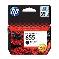Картридж HP 655 DJ 4615/4625/3525/5525 Black 600 страниц