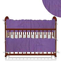 Защита в кроватку ТМ Алекс, сиреневая SKL11-179891
