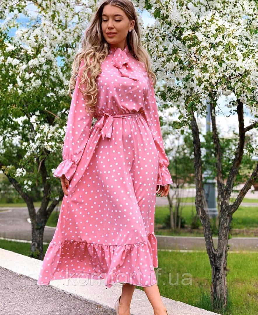 Платье Рубинка