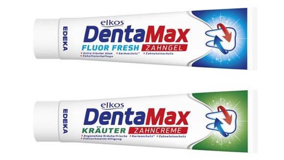 Зубная паста Elkos DentaMax Fluor fresh 125 мл, фото 2