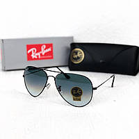 Мужские солнцезащитные очки авиаторы Rb black