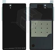Задняя панель корпуса (крышка) для Sony Xperia Z C6602 L36h, оригинал, черный