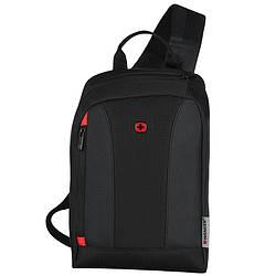 Рюкзак-монослинг, Wenger Monosling Shoulder Bag, чёрный