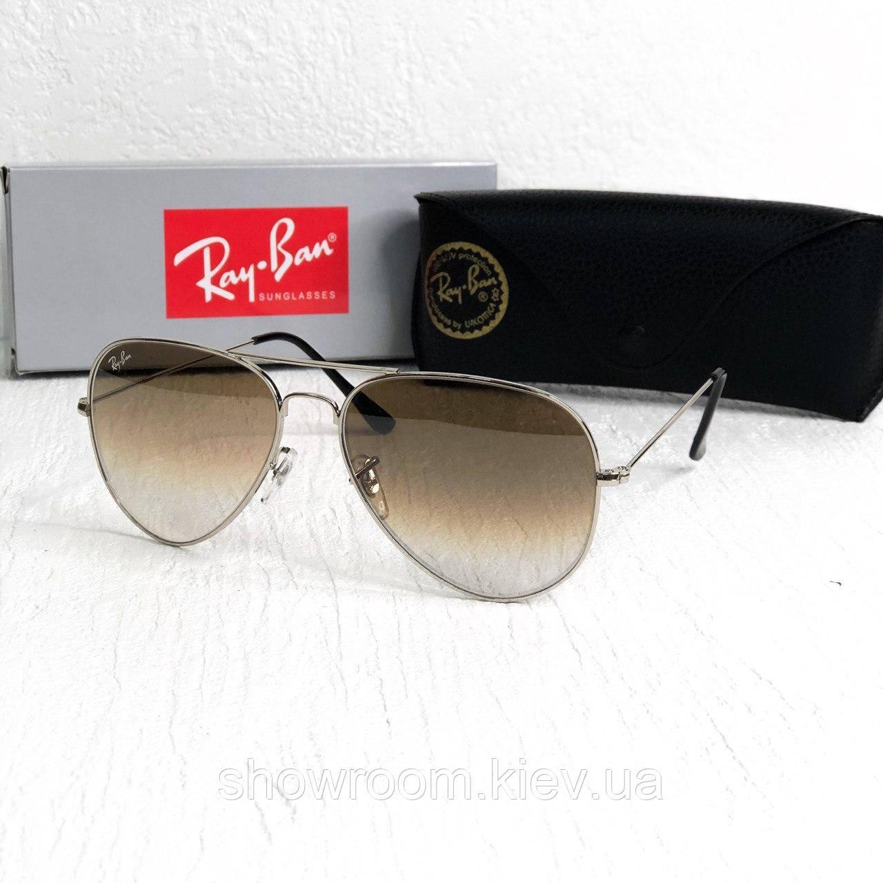 Мужские солнцезащитные очки авиаторы Rb brown