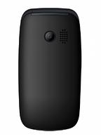 Кнопочный телефон раскладушка с большим дисплеем и камерой на 2 сим карты Maxcom MM817 Black