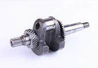 Колінвал під шліц для двигуна з знижувальним редуктором — 168F