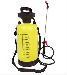 Ручной гидравлический опрыскиватель на 5 л, KF-5L-7 (ручний обприскувач садовий)
