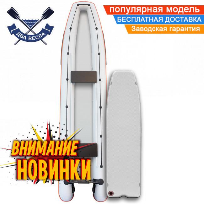 Лодка каноэ Kolibri КМ-460C четырехместная с надувным дном Airdeck