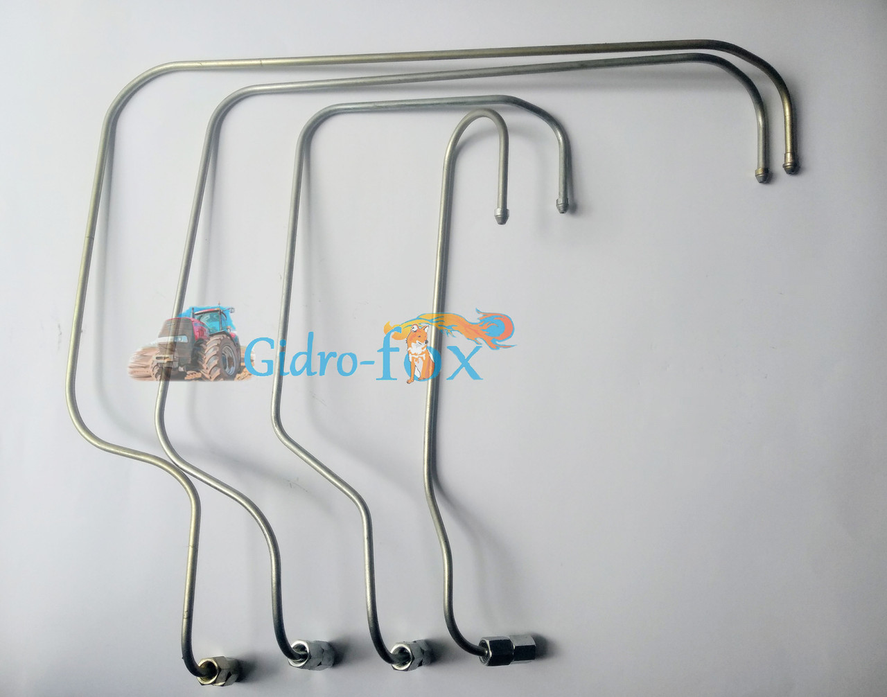 Трубки топливные высокого давления (гнутые) ВД Т-40 рядный Кт.Н. Д37Е-1104200-Б2