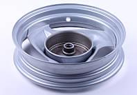 Диск задний стальной 10*2,15 барабанный тормоз — Yamaha JOG 50, фото 1