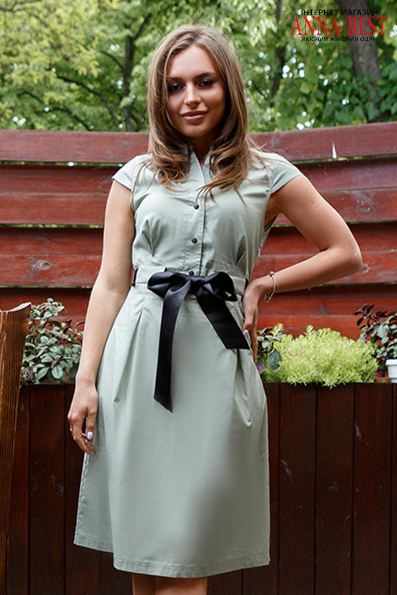 """Сукня офісне літній з котону """"Надін літо"""""""