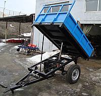 Прицеп тракторный ДТЗ 1ПТС-2.0 (2 тонны) самосвал гидравлика