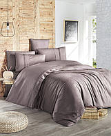 Комплект постельного белья First Choice Ranforce Deluxe Gala Lilac хлопок 200-220 см фиолетовый