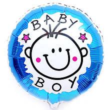Шарик фольгированный Baby Boy 1624