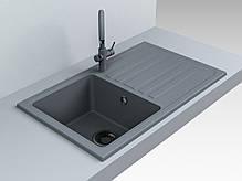 Кухонна мийка Versal Miraggio 753*385*201 мм, фото 3