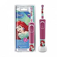 Детская электрическая зубная щетка Oral-B Vitality 100 принцессы