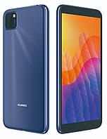 """Смартфон хуавей тонкий HUAWEI Y5P DS 2020 Blue 5,45"""" 2/32 гб Octa Core"""