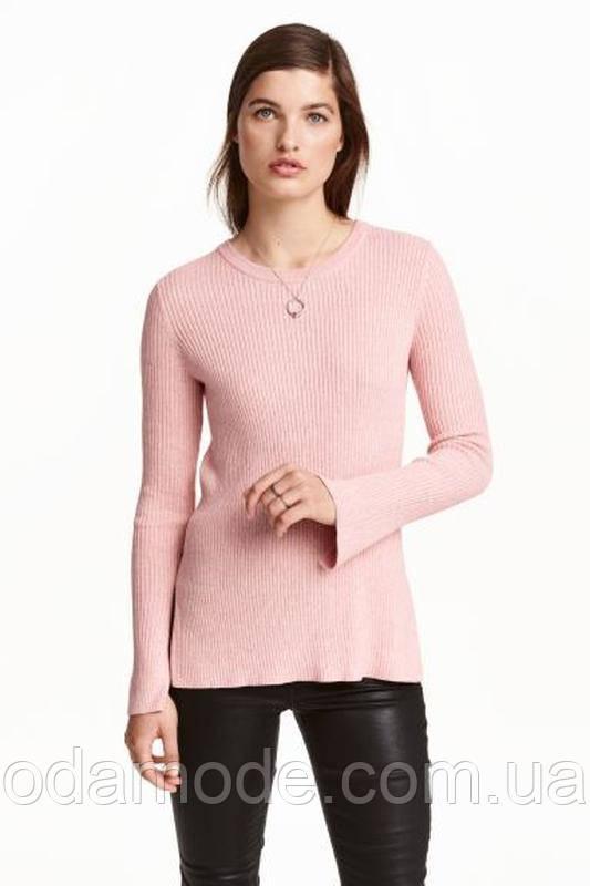Свитер женский H&M розовый