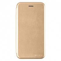 Чехол G-Case для Samsung Galaxy M30 (M305) книжка Ranger Series магнитная Gold